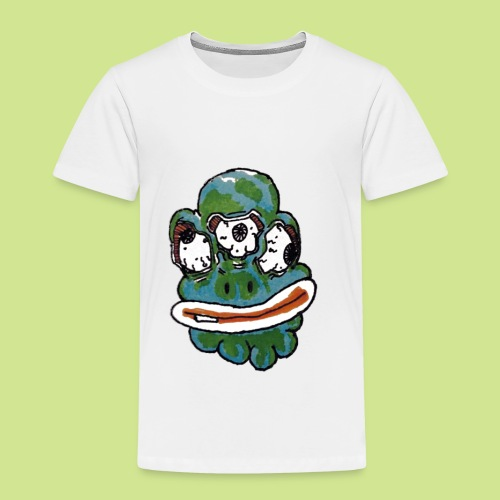 Earth Face - Toddler Premium T-Shirt