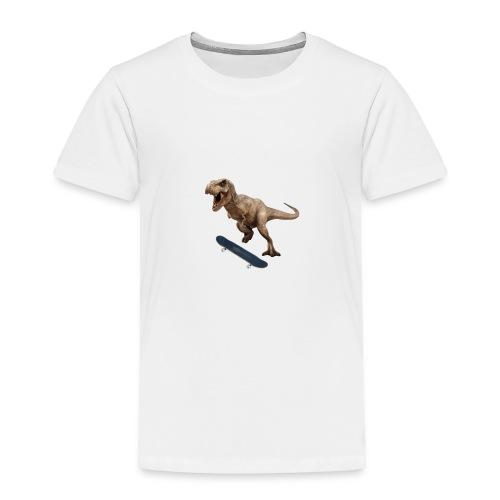 T-Rex Kickflip - Toddler Premium T-Shirt