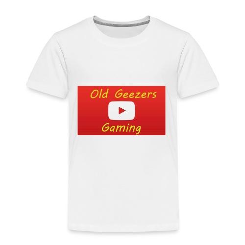 Old Geezers Gaming - Toddler Premium T-Shirt