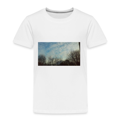 jersery winter sky - Toddler Premium T-Shirt