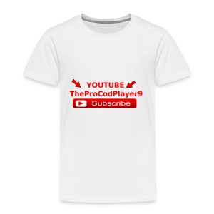 YOUTUBE TheProCodPlayer9 - Toddler Premium T-Shirt