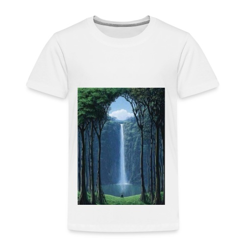Waterfall lake - Toddler Premium T-Shirt