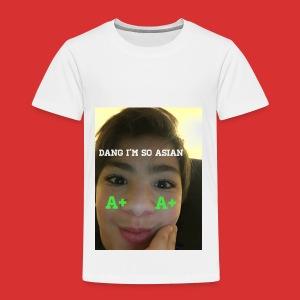 Asian guy - Toddler Premium T-Shirt