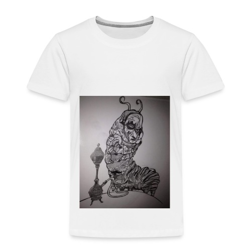 Black caterpillar - Toddler Premium T-Shirt