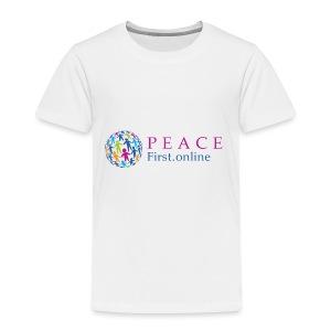 LogoPeaceFirst - Toddler Premium T-Shirt