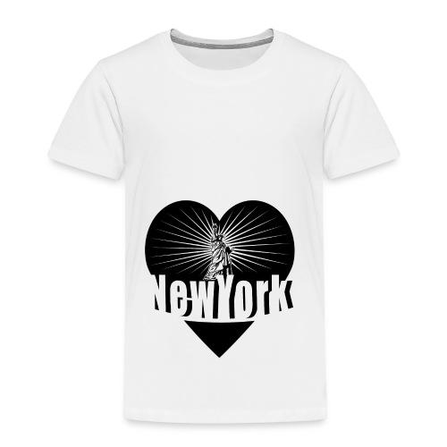New York in Love - Toddler Premium T-Shirt