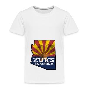 Zuks of Arizona Official Logo - Toddler Premium T-Shirt