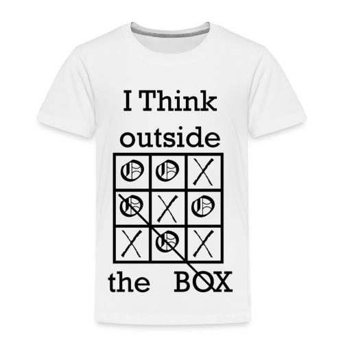 Tic Tac Toe - Toddler Premium T-Shirt
