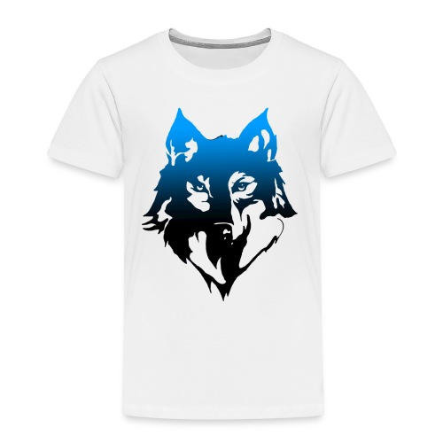 Faded wolf - Toddler Premium T-Shirt