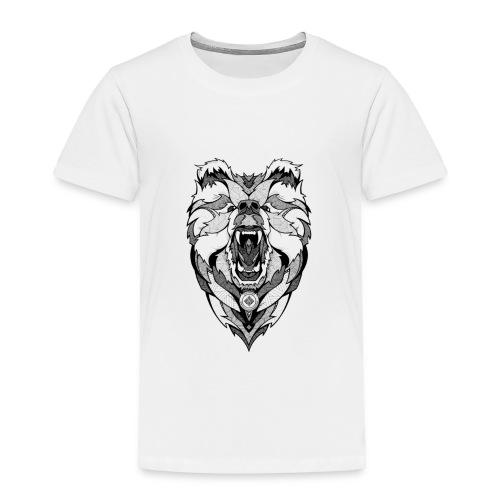 Bear Graphic Valar - Toddler Premium T-Shirt