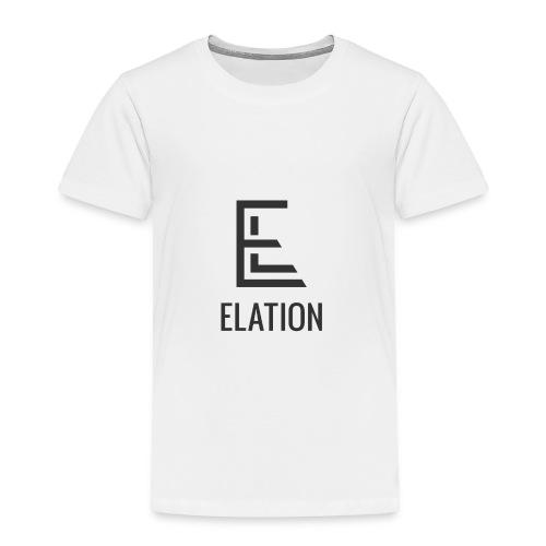 ElationDarkLogo - Toddler Premium T-Shirt