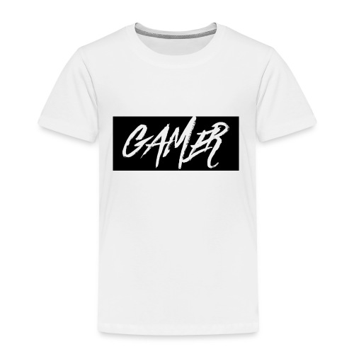 Gamer Logo Shirt - Toddler Premium T-Shirt