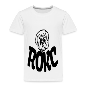 ROKC ALTERNATE LOGO - Toddler Premium T-Shirt