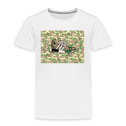 Nmd 'A Bathing Ape - Toddler Premium T-Shirt