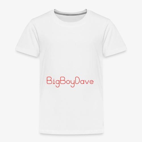 bigboy dave - Toddler Premium T-Shirt