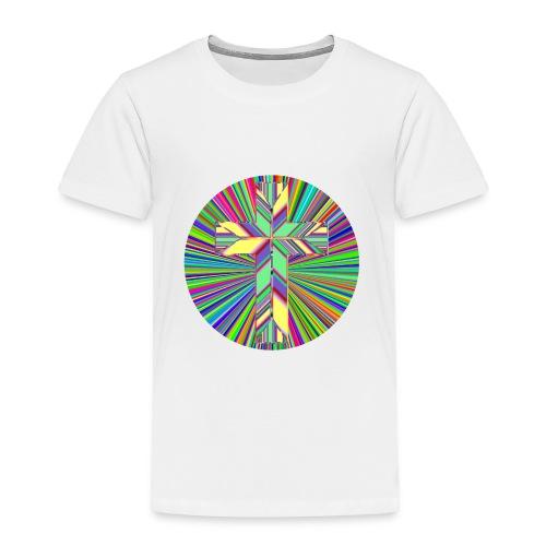 Prismatic Refractive Cross - Toddler Premium T-Shirt