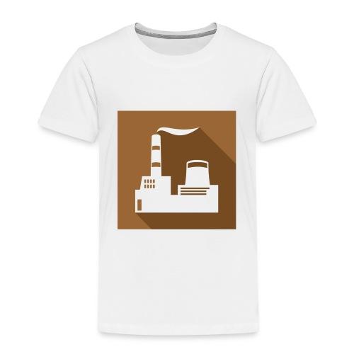 flat factory vector - Toddler Premium T-Shirt