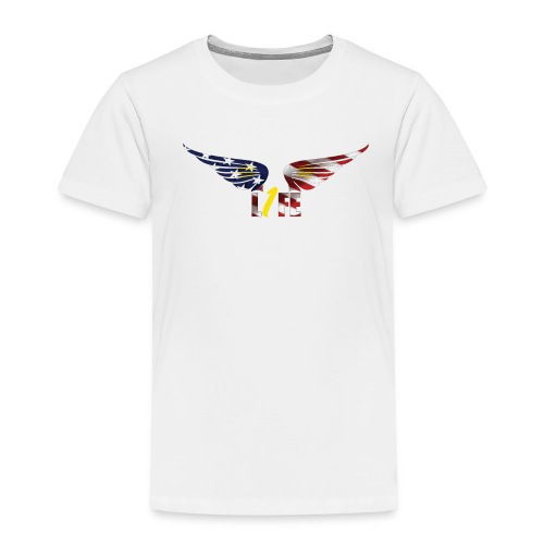 Patriotic1LifeLogo - Toddler Premium T-Shirt