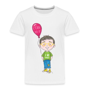 Noah Knots Not from The Invisible Hat Series - Toddler Premium T-Shirt