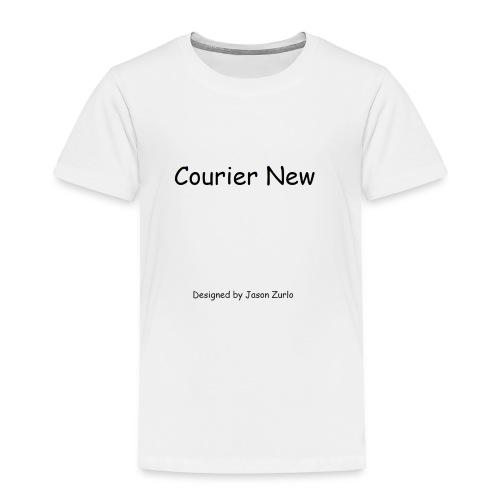 Font Irony - Toddler Premium T-Shirt