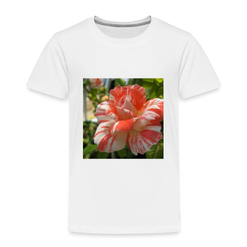 Pink and white rose seeds mixed rare flower - Toddler Premium T-Shirt