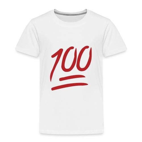 100 MEN BOR!! - Toddler Premium T-Shirt