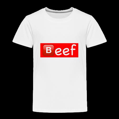 Beef//Kids Sizes - Toddler Premium T-Shirt