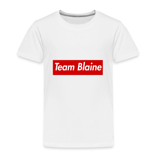 Team Blaine Box Logo - Toddler Premium T-Shirt
