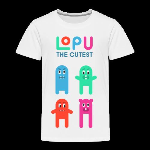 Lopu - The Cutest - Toddler Premium T-Shirt