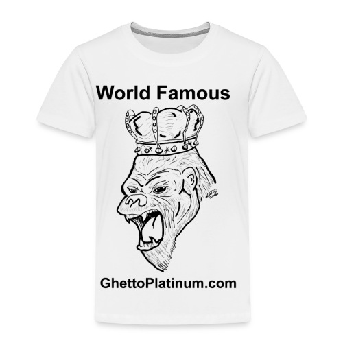 T-shirt-worldfamousForilla2tight - Toddler Premium T-Shirt