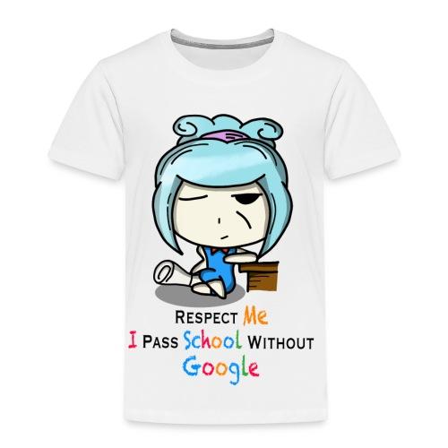 I pass school without Google (women) - Toddler Premium T-Shirt