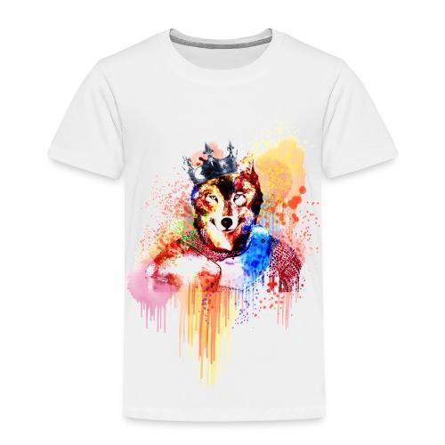Sir Wolf - Toddler Premium T-Shirt