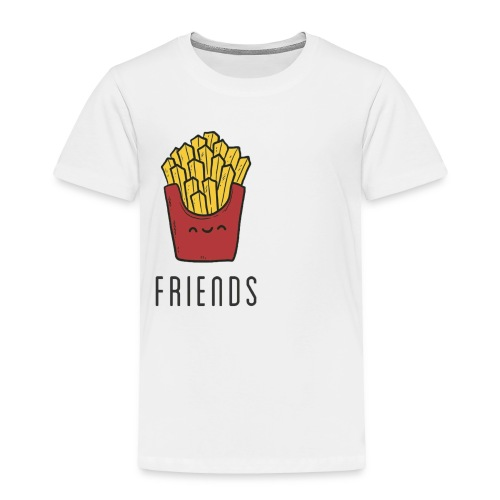 French fries best friends - Toddler Premium T-Shirt