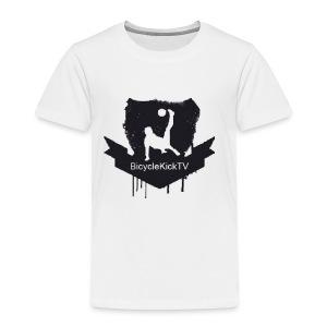 BicycleKickTV Classic Logo - Toddler Premium T-Shirt