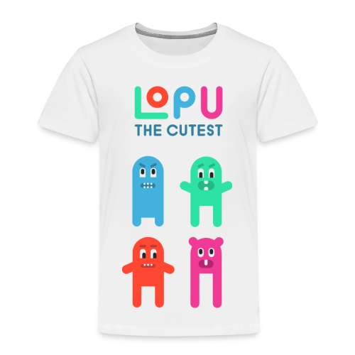 Lopu - The Cutest - Toddler Premium T-Shirt