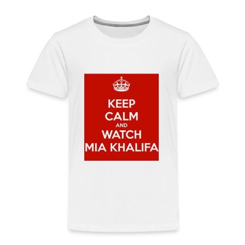 keep-calm-and-watch-mia-khalifa - Toddler Premium T-Shirt