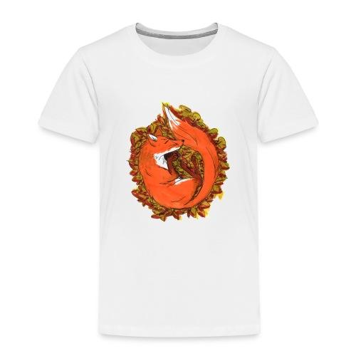 Sleepy fox - Toddler Premium T-Shirt