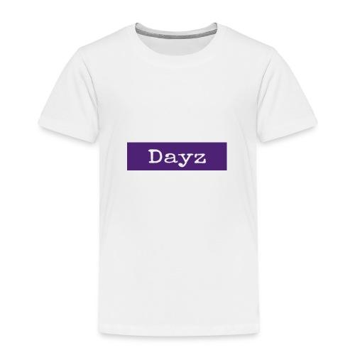 Dayz Purple Box Logo - Toddler Premium T-Shirt