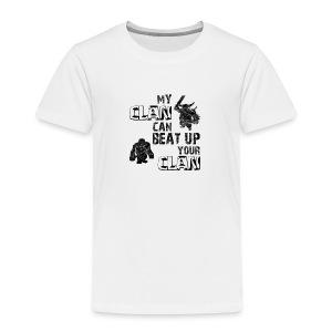 Clash of clans clans selection - Toddler Premium T-Shirt