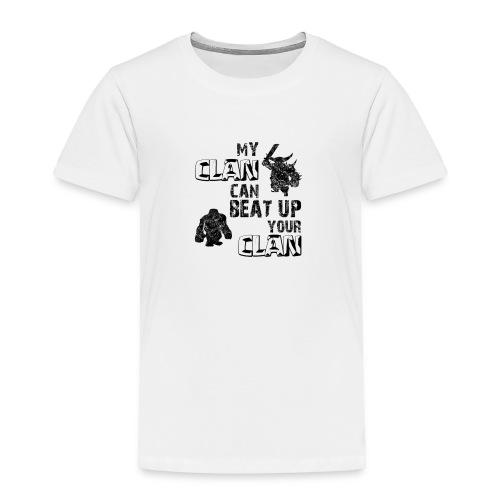 Clash of clans clans selection - Toddler Premium T-Shirt