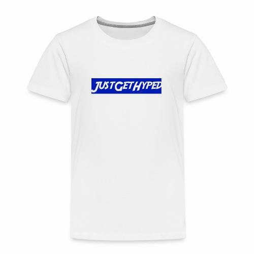 JustGetHyped Supreme Type - Toddler Premium T-Shirt