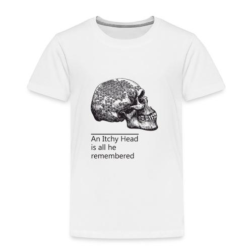 skull holes - Toddler Premium T-Shirt