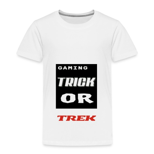 gaming trick or trek - Toddler Premium T-Shirt