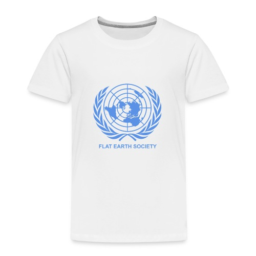 Flat Earth Society - Toddler Premium T-Shirt