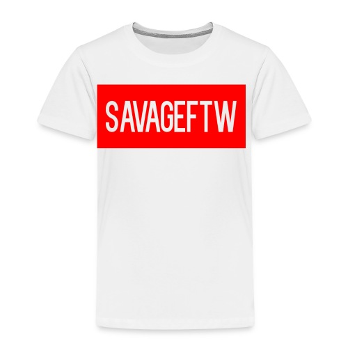 savageftw shirt - Toddler Premium T-Shirt