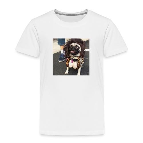 Chloe as Snooki Pug - Toddler Premium T-Shirt