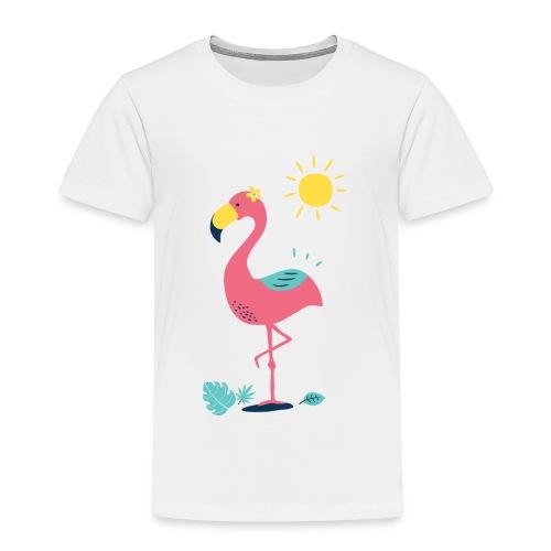 Khodeco design flamingo - Toddler Premium T-Shirt
