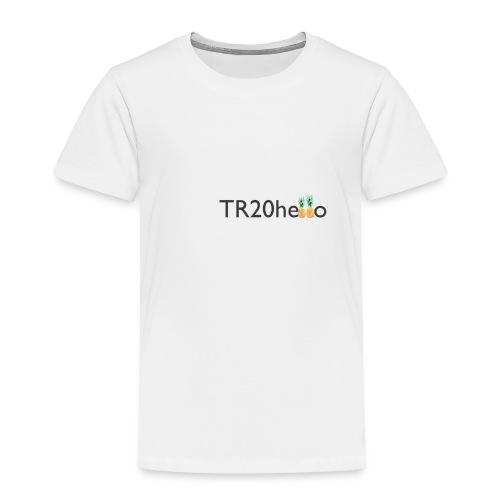 TR20hello - Toddler Premium T-Shirt