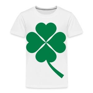 Green Four Leaf Clover - Toddler Premium T-Shirt