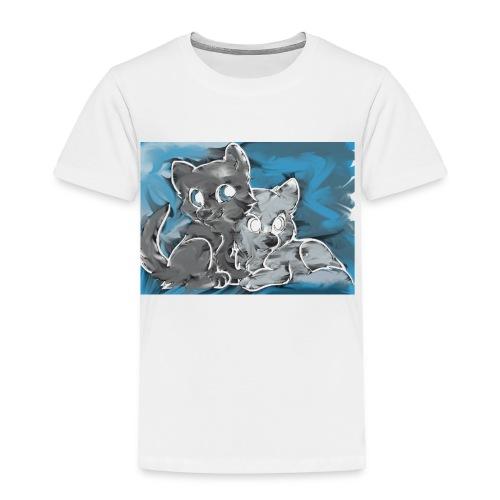 Wolf Family - Toddler Premium T-Shirt